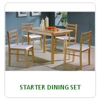 STARTER DINING SET